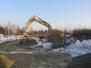 2017-01-23 Budowa odwodnienia na nowej części cmentarza